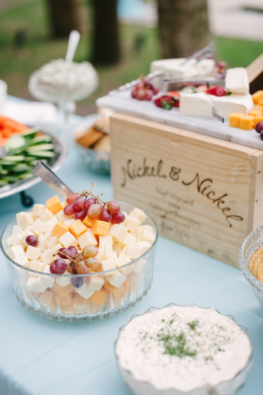Catering by B. Gourmet. Image by Britt Croft Photography.