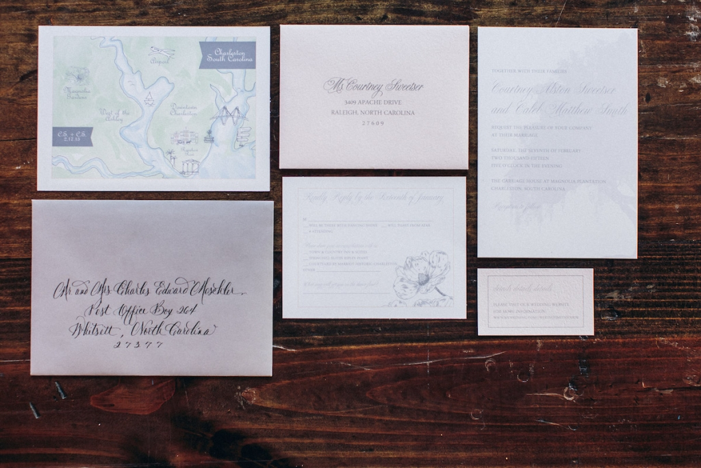 Stationery by dodeline designs. Image by Richard Bell Photography.