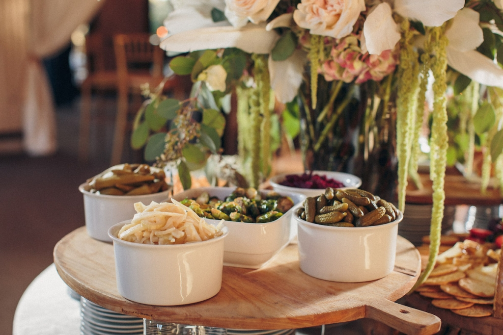 Catering by MOSAIC Catering & Events. Image by Richard Bell Weddings at Magnolia Plantation & Gardens.