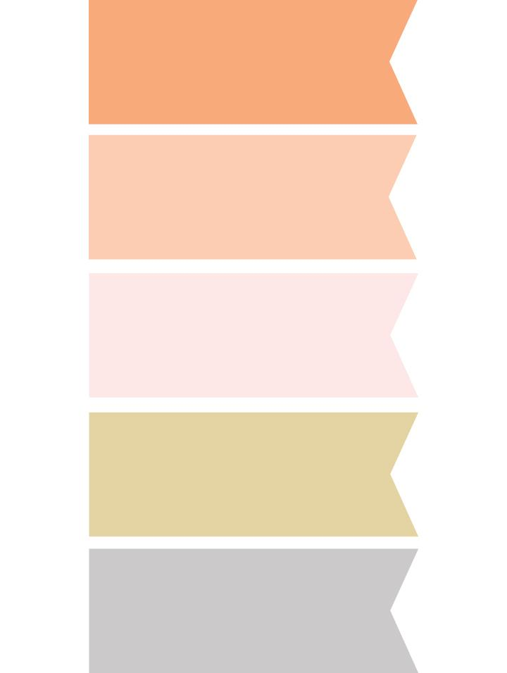 7. PICK A PALETTE: The couple embraced a  traditional Indian wedding  palette of gold, orange, peach, and blush but are making it beachy by skipping the customary hot red and instead pairing it with a  cool silver gray.
