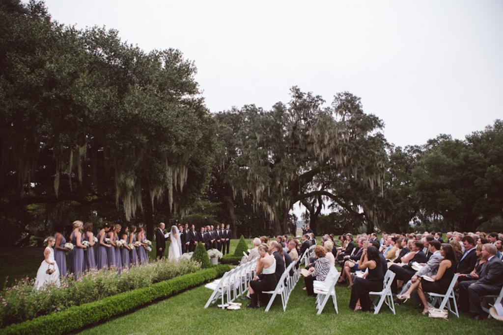 Wedding design by Fox Events. Image by amelia + dan photography at Middleton Place.