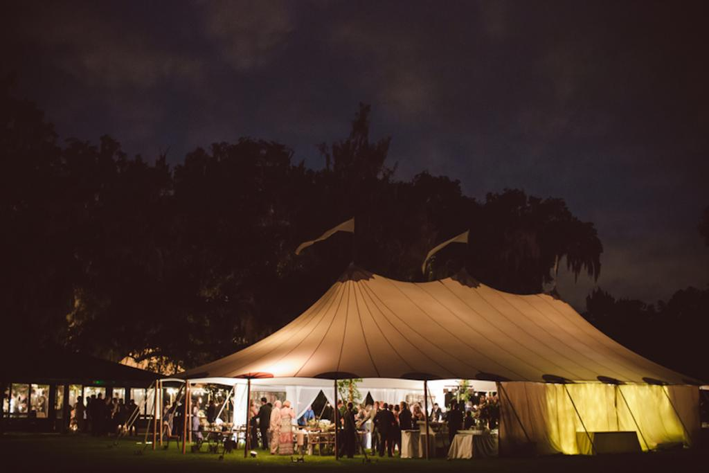 Tent by Sperry Tents Southeast. Image by amelia + dan photography.