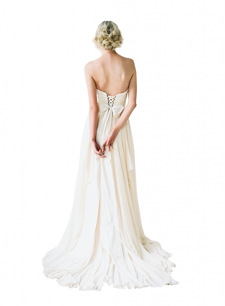 "{Timeless Trend}  Laced Up Corset; gown: ""Natalie"" by Truvelle; The Bridal House of Charleston"