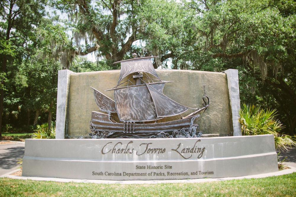 Photograph by Juliet Elizabeth at Charleston Towne Landing.